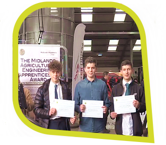 Agricultural Engineering Apprenticeship Winners - Newark & Nottinghamshire Agricultural Society